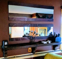 black and brown wooden TV stand Fort Collins, 80525