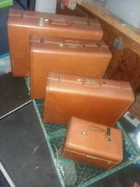 vintage 4piece Samsonite luggage set