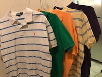 5 Ralph Lauren Polo shirts