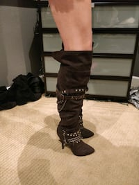 Sexy thigh high boots Bakers size 7 boots. Morgan Hill, 95037