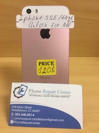 Iphone SE / 64 gb / Unlock for all  Middletown, 06457