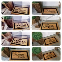 OUR TOP SELLER!!! Personalized Coir Mats Toronto, M6J 2Y3