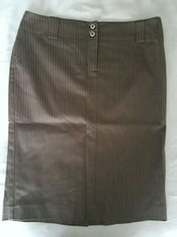 Brown pinstripe dress skirt Calgary, T3N 0E4