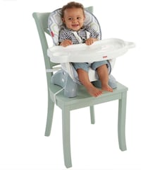 Fisher-Price SpaceSaver Adjustable High Chair Ashburn, 20147
