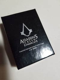 Assassin's Creed Necklace and Coin