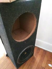 black and gray subwoofer enclosure Richmond