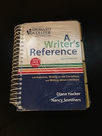 8th Edition A Writer's Reference spiral notebook