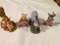 Pooh and friends collectable figurines Calgary, T2M 2E3