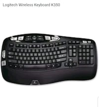 black Logitech wireless computer keyboard Lewisville, 75067