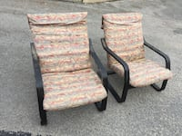 pair 1970's bouncing office chairs very cool Nashville, 37209