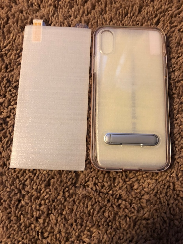iPhone X/Xs XR case & temporary glass