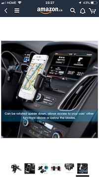 Car Phone Mount,Mpow CD Slot Car Mount CD Phone Holder Telephone Holder iPhone Holder Cell Phone Car Mount with 360 Degree Rotation. Burnaby, V5C 5H8