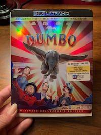 Dumbo blue ray