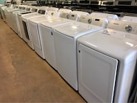 Samsung top load washer and electric dryer set Reisterstown, 21136