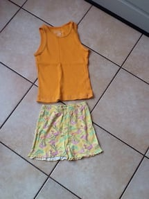 women's yellow and pink floral sleeveless dress
