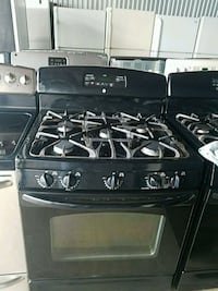 black 4-burner gas range oven Temple Hills, 20748