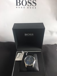 round silver-colored Michael Kors analog watch with box Bethesda