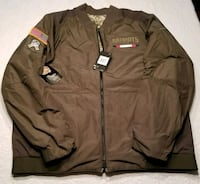 Nike Patriots Salute to Service reversible jacket  Hudson, 03051