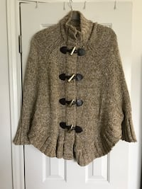 Michael Kors Toggle Poncho Sweater Centreville, 20121