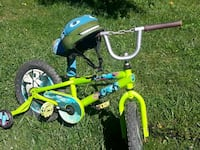 toddler's yellow and blue bicycle Sutton, 26601