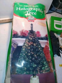 4' Fiber Optic Holographic Christmas Tree Silver Spring, 20902