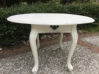 REDUCED White Side Table