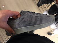 Unpaired gray adidas sneaker Vancouver, V6G 0A3