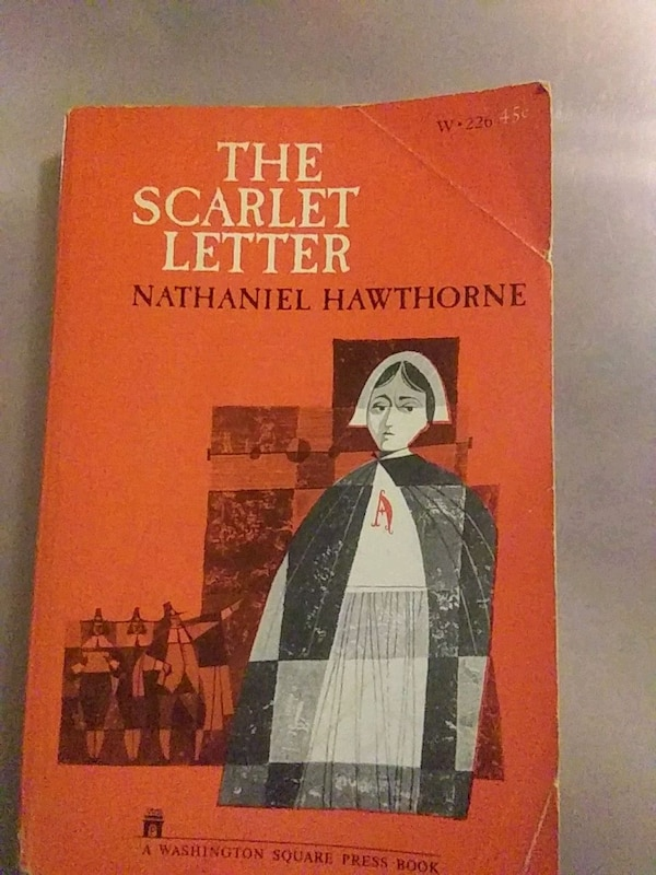 The Scarlet Letter Book Cover.The Scarlet Letter The Autor Nathaniel Hawthorne