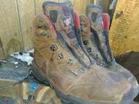 red wing steel toed Boots