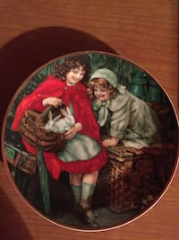 "Vintage Collectable Plate. ""Pets"""