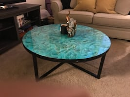 Cheyenne Blue/Green Coffee Table