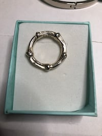 Authentic Tiffany & Co Bamboo Ring Springwater, L0L 1X0