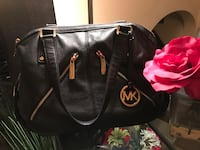 black Michael Kors leather tote bag Washington, 20011