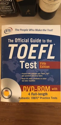Toefl book with dvd Rockville, 20852
