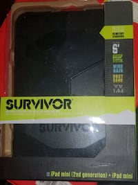 iPad Mini Survivor Rigged Case #Authentic  Oakville