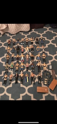 WWE ACTION FIGURES 39 SOME RARE