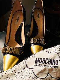 Authentic Moschino Heels is size 38.5, no box or dustbag included. Open to reasonable offers  25 km