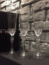 Wine glasses crystal from turkey Mississauga, L5A