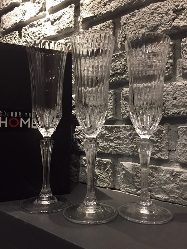 Wine glasses crystal from turkey