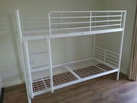 Used Ikea Svarta Bunk Bed White For Sale In Montreal Letgo