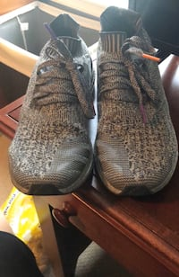 Silver Ultra Boosts  New York