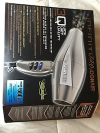 Gray Conair hair dryer box Ottawa, K1V