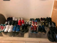 assorted pairs of shoes lot Clovis, 93612