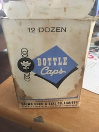 Crown cork & seal co. Limited bottle caps Calgary, T2A