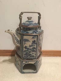 Vintage Japanese teapot with warmer   Calgary, T2Y 3S3