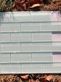 Glass tile in a 12X12