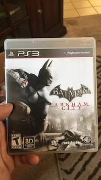 Sony ps3 batman arkham city game Sacramento, 95828