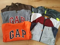 Boys sweatshirts and jackets
