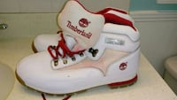 white-and-red Timberland work boots Rocky Mount, 27804