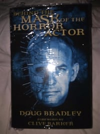 LIBRO DE MASK OF THE HORROR ACTOR Madrid, 28026